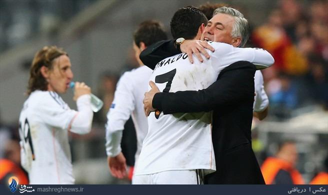 رئال مادرید با تحقیر بایرن مونیخ فینالیست شد/ رونالدو رکورد زد