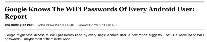 جاسوسی علنی گوگل از نرمافزارهای اندروید