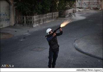 سلاح خاص یک انقلابی بحرینی + عکس