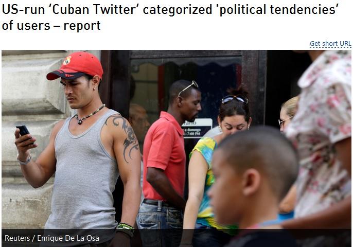 جاسوسی سایت آمریکایی از شهروندان کوبایی // در حال ویرایش