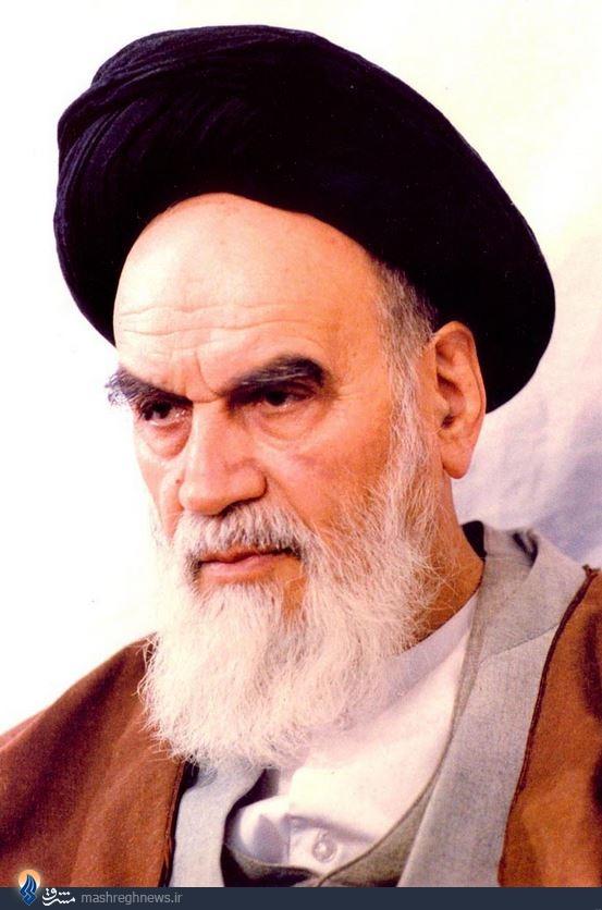 564094 203 امام خمینی: از همۀ ادارات، باید این شیر و خورشید منحوس قطع بشود