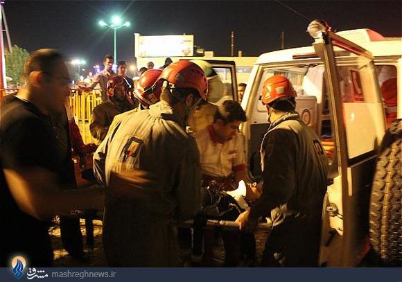 جزئیات سقوط ترن هوایی در پارک ارم