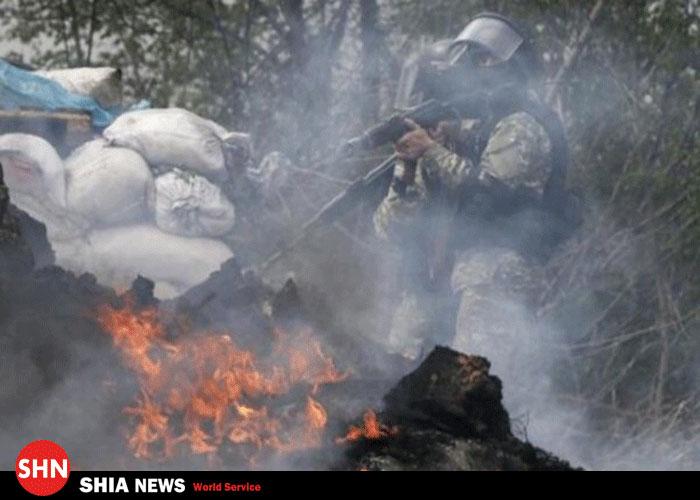 تحرکات تروریستهای وهابی در اوکراین+تصاویـر