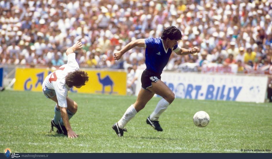 دیگو مارادونا؛ موتسارت جهان فوتبال