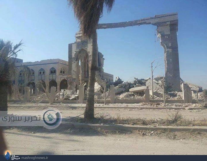 تروریستهای سوری مقبره اویس قرنی را بازهم منفجر کردند +تصاویر