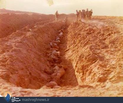 عکس/شهدای کانال حنظله در فکه