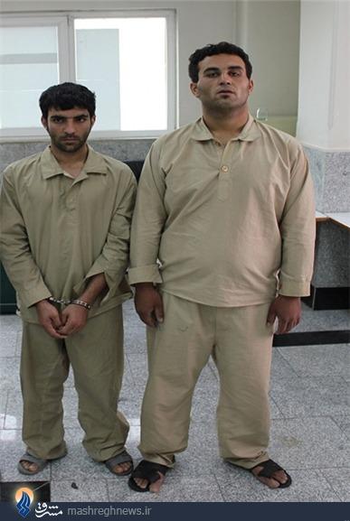 کامران و هومن بازداشت شدند+عکس
