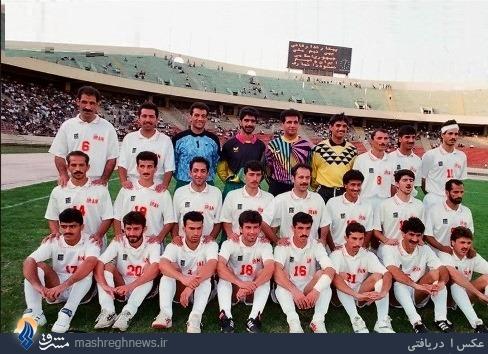 خاطره تصویری/ تیم ملی 20 سال پیش در راه آمریکا