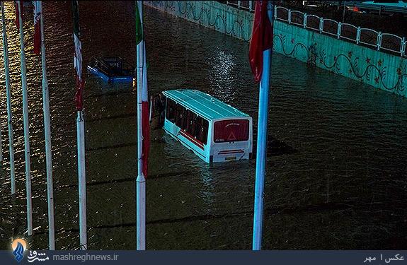 آخرین اخبار از سیل تبریز