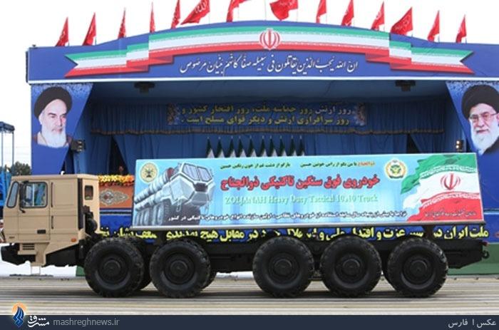 «ذوالجناح» S300 ایرانی را حمل میکند+تصاویر