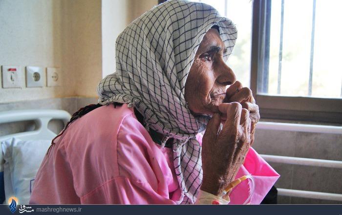 پیرترین مادرشهید کشور+عکس