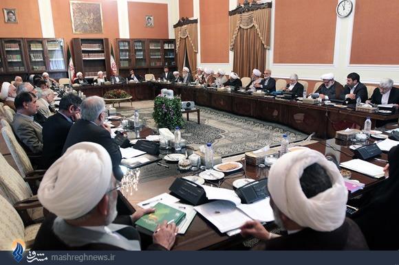 عکس/ جای خالی روحانی در مجمع