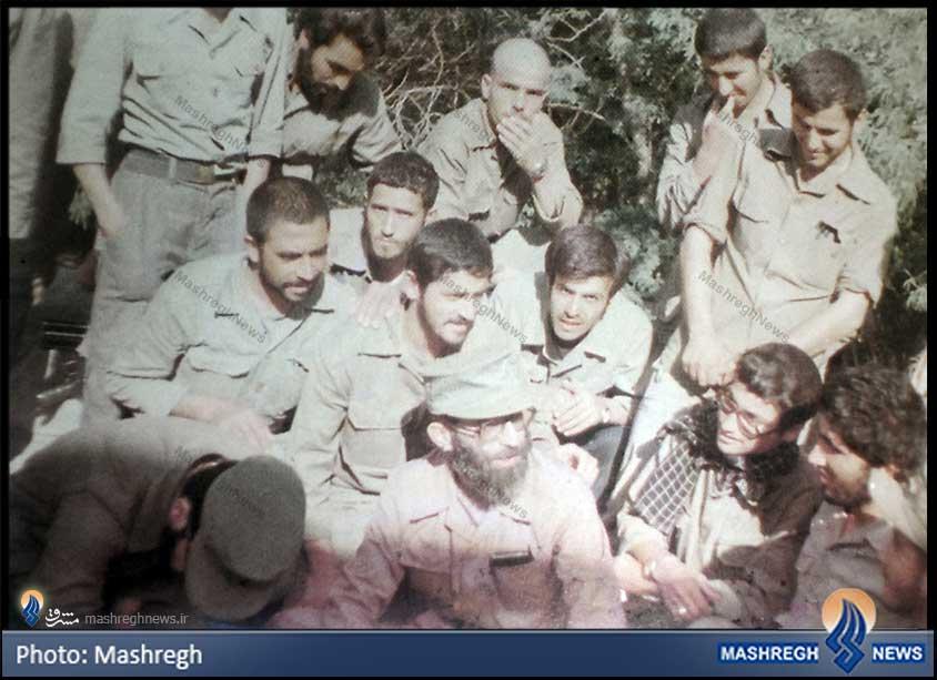 عکسی دیده نشده از «آقا» و «احمد کاظمی»