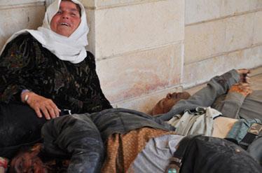 جدیدترین جنایت داعش در حماه+عکس