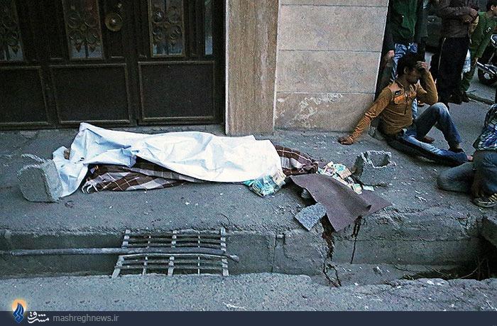 تصویر یکی از قربانیان طوفان دیروز