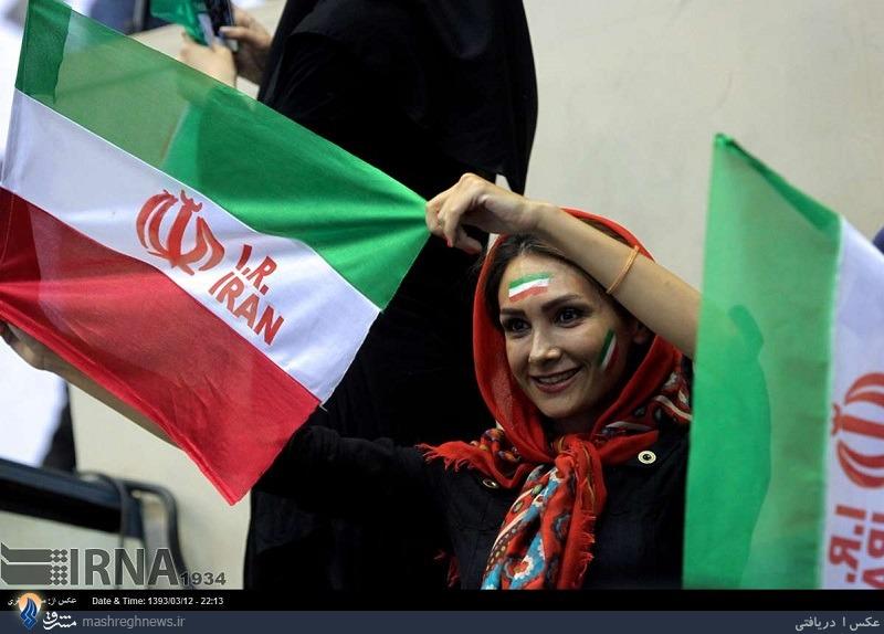 599479 289 مراسم بدرقه تیم ملی در استادیوم آزادی تا فرودگاه امام خمینی