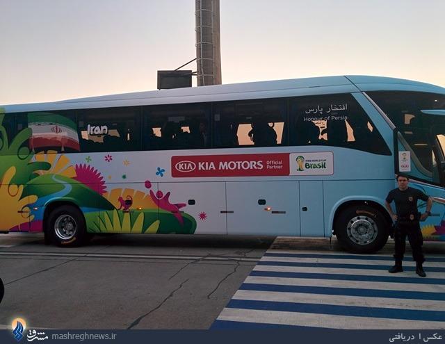 عکس/ اتوبوس مخصوص ایران در جام جهانی