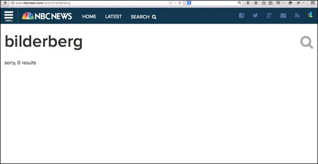 سانسور اجلاس بیلدربرگ توسط رسانههای اصلی آمریکا + تصاویر