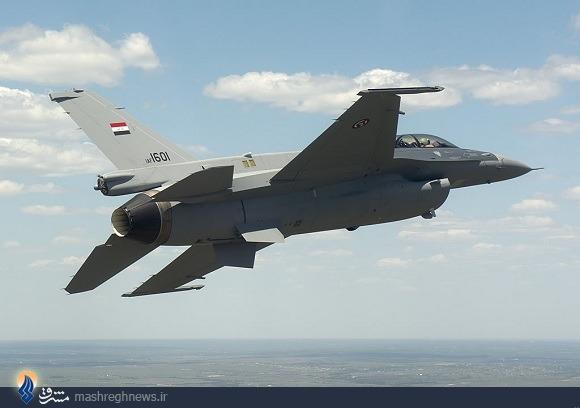 تحویل اولین اف 16 به ارتش عراق+عکس