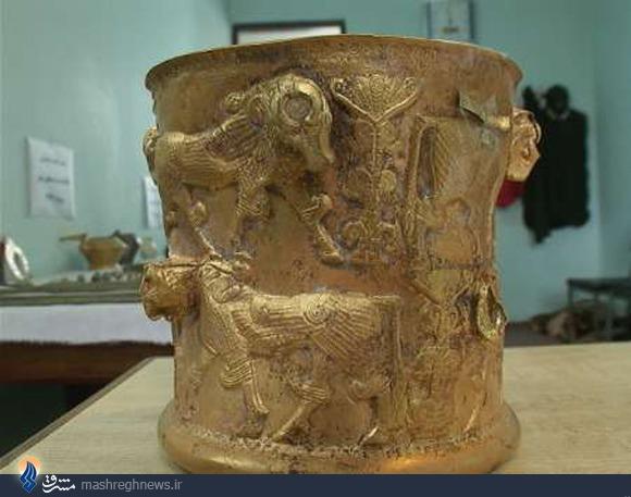 کشف نفیسترین جام ایران باستان توسط اطلاعات سپاه