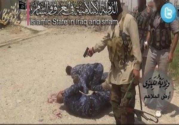 اعدام میدانی داعش در موصل+عکس