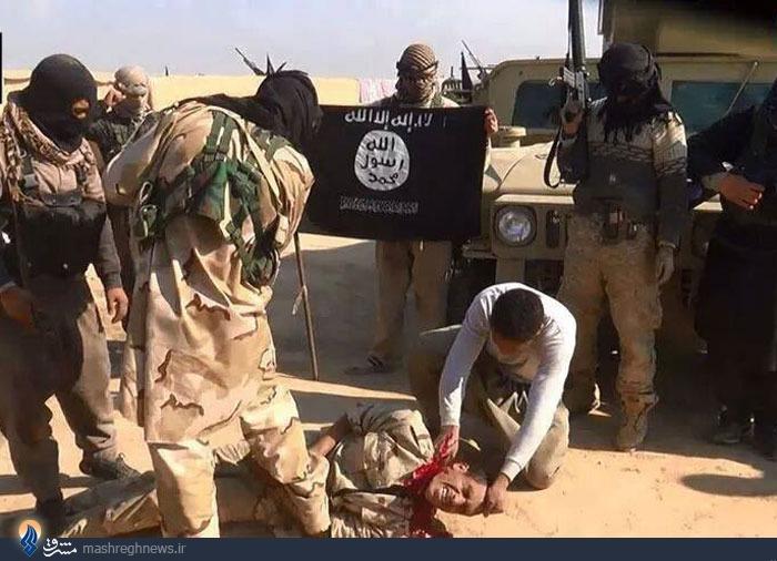 تصاویر/ ذبح سرباز ارتش عراق توسط داعش +18