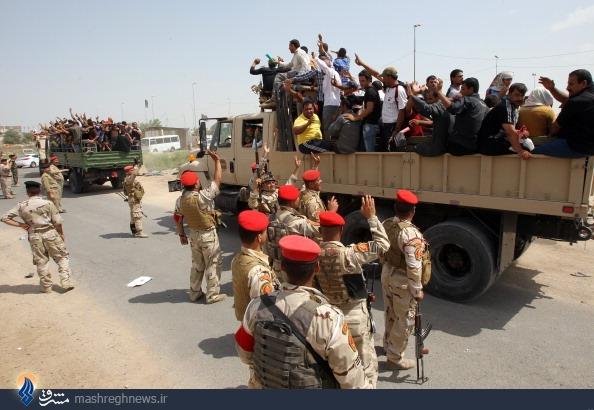 آیت الله سیستانی اعلام جهاد کرد/ اشتیاق مردم عراق برای مقابله با داعش/ پیشروی گسترده ارتش در مناطق مختلف/ نقشه درگیری های داعش و ارتش عراق +اینفوگرافی