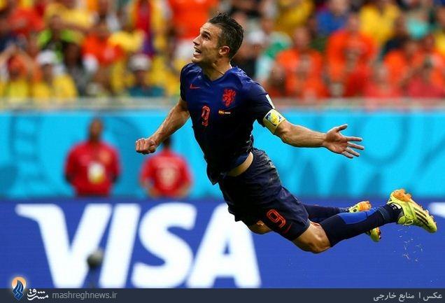 بهترین بازیکن دیدار اسپانیا - هلند +عکس