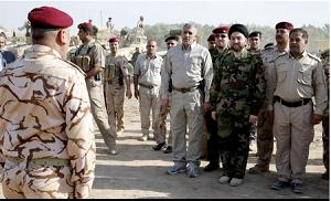 خارجکردن تسلیحات به غنیمت گرفتهشده از ارتش عراق به سوریه/ سَر سرگرد عراقی توپ فوتبال داعش/ وزارت کشور عراق: بغداد ۱۰۰ درصد امن است