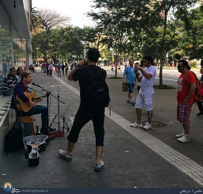 عکس/ تاثیر خارج روی هنرمندان در برزیل