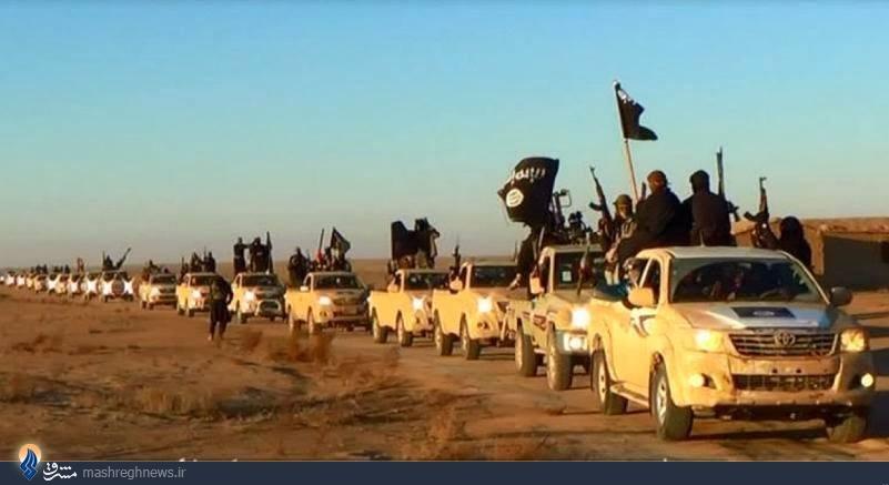 کاروان خودروهای ناتو زیر پای نیروهای داعش در عراق