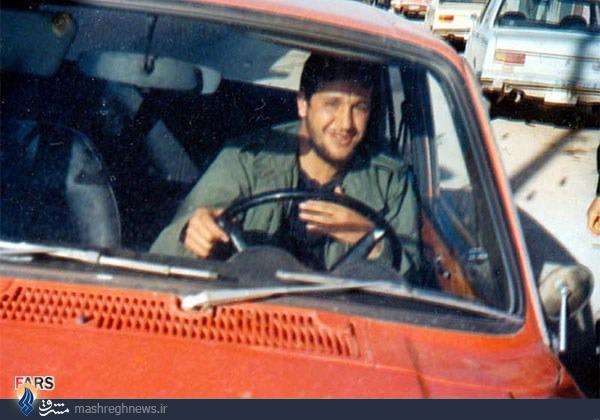 عکس/سردار و تاکسی نارنجی