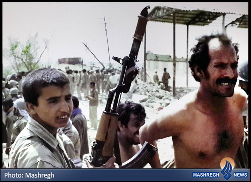 عکس / سه نما از سومین روز خرداد