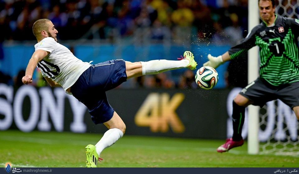 صعود فرانسه با گلباران سوئیس/ پرگلترین بازی جام رقم خورد +جدول