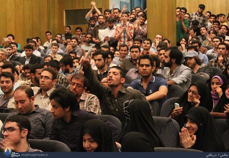 حسن عباسی در دانشگاه تهران: