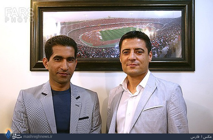 عکس/ 2 داور ایرانی حاضر در جامجهانی