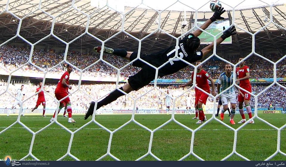 فوتبال ایتالیا: مسی قلب ایرانیها را شکست