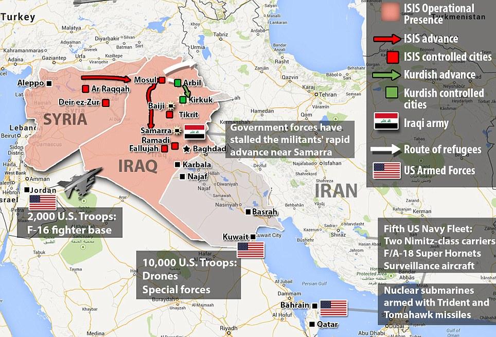 برنامه سری آمریکا برای تجزیه عراق به سه کشور