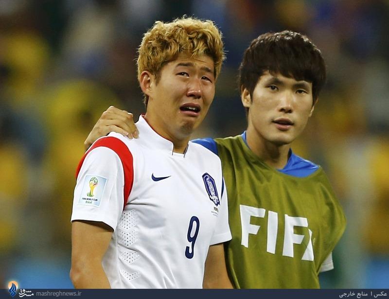 عکس/ یک صحنه احساسی در جام جهانی