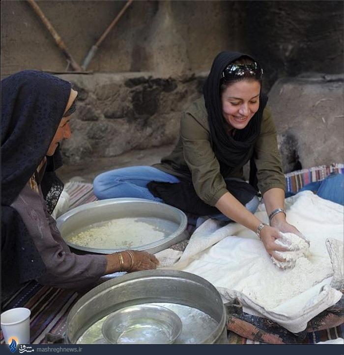 عکس/نانوایی سنتی مریلا زارعی