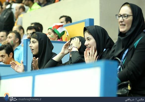 عکس/ پرواز والیبالیست تیم ایران
