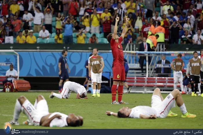 عکس/ صحنهای زیبا در جام جهانی