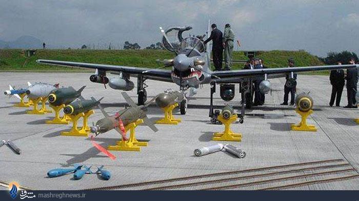 آشنایی با 5 هواپیمای ضد شورش+عکس