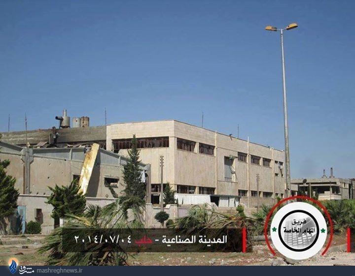 عملیات جالب چتربازان سوری در اردوگاه بنلادن و آزادسازی شیخنجار +نقشه و تصاویر