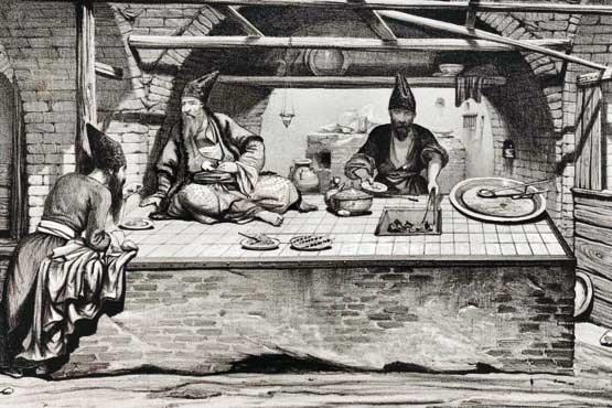 قجرها چه غذایی میخوردند