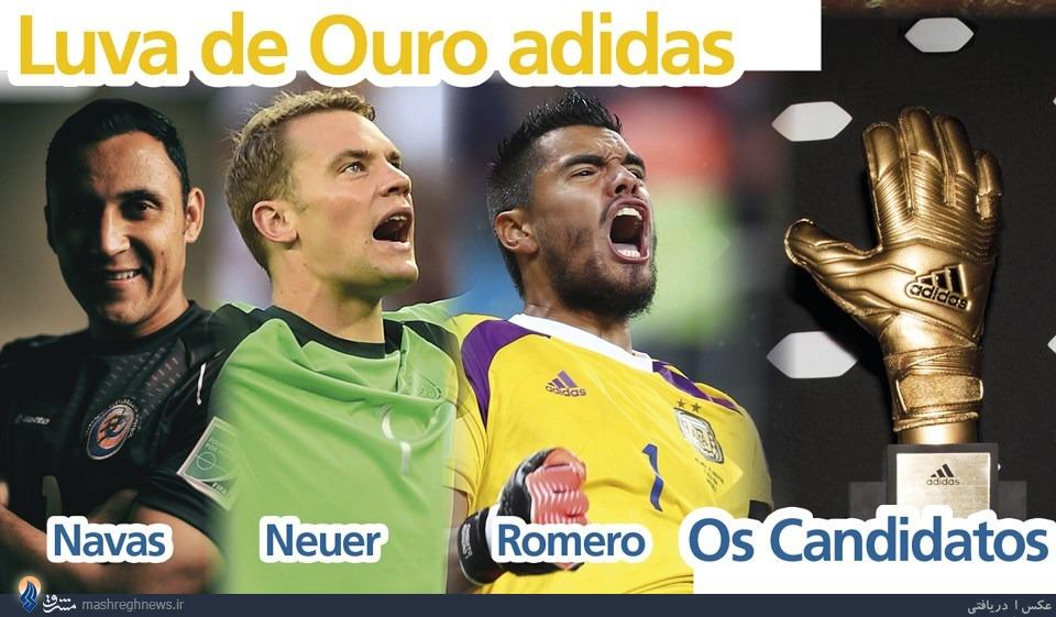 نامزدهای کسب توپ طلا، دستکش طلایی و بهترین بازیکن جوان جام جهانی +عکس