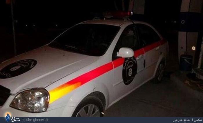 عکس/نخستین خودروی پلیس داعش