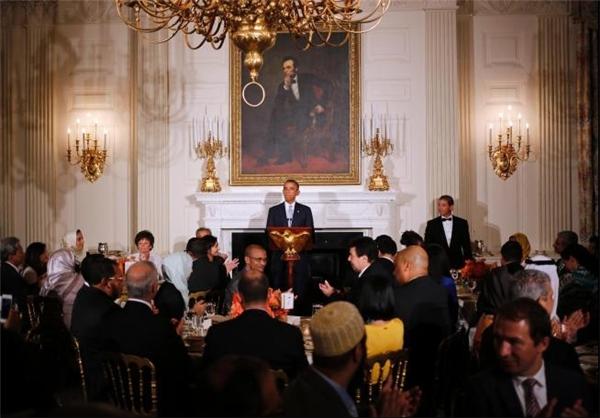 افطاری اوباما به صهیونیست ها+عکس