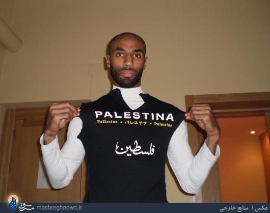 همدردی کریس با دردهای غزه