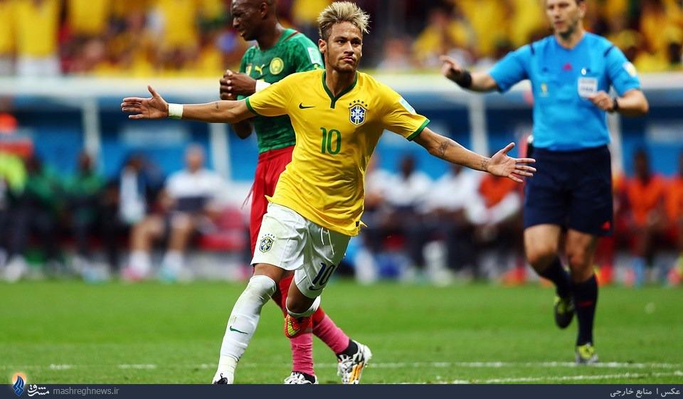 صدرنشینی برزیل با درخشش نیمار/ صعود سزاوارانه مکزیک +جدول
